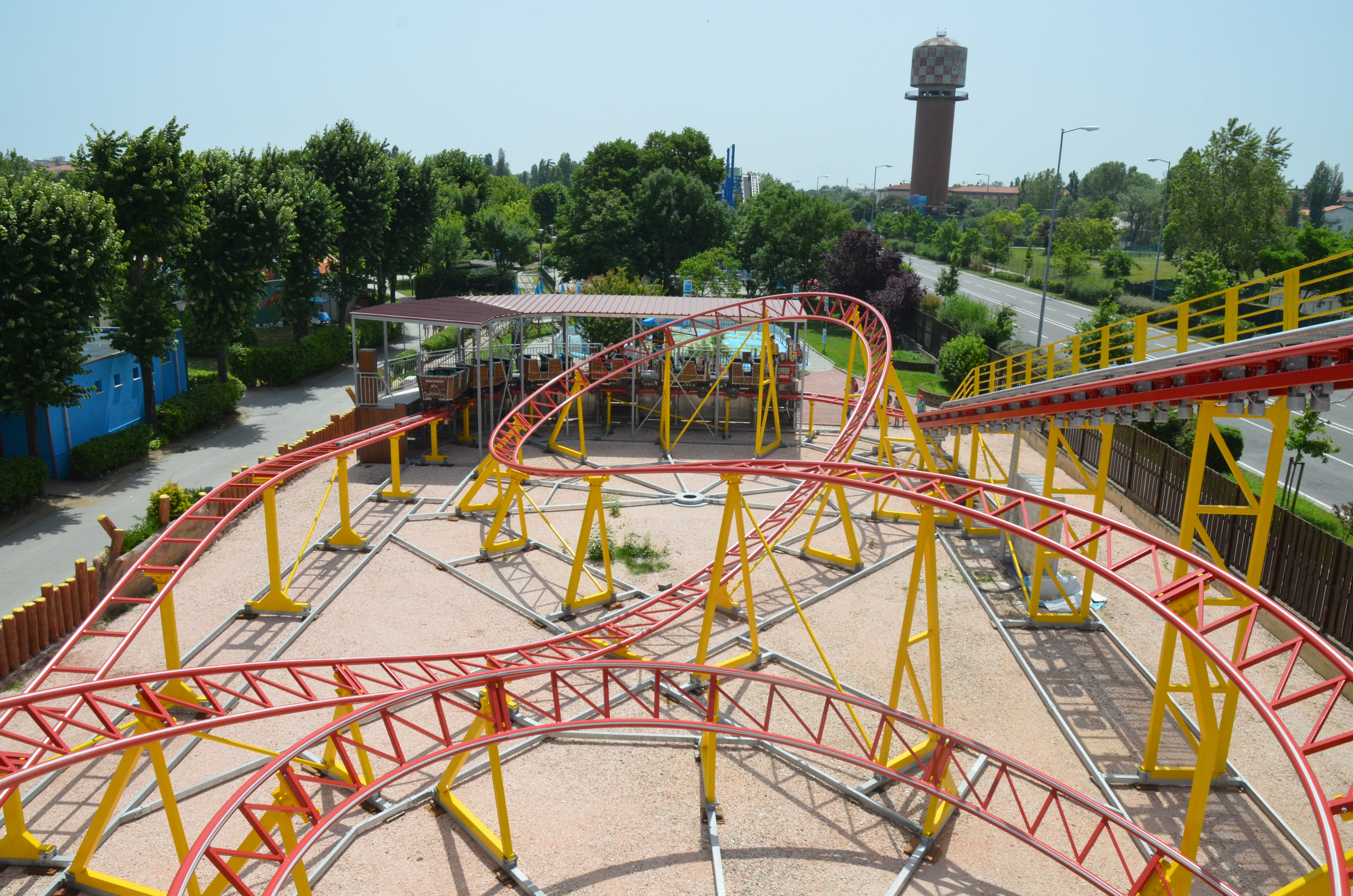 Coaster Fiabilandia Red Mountain 1