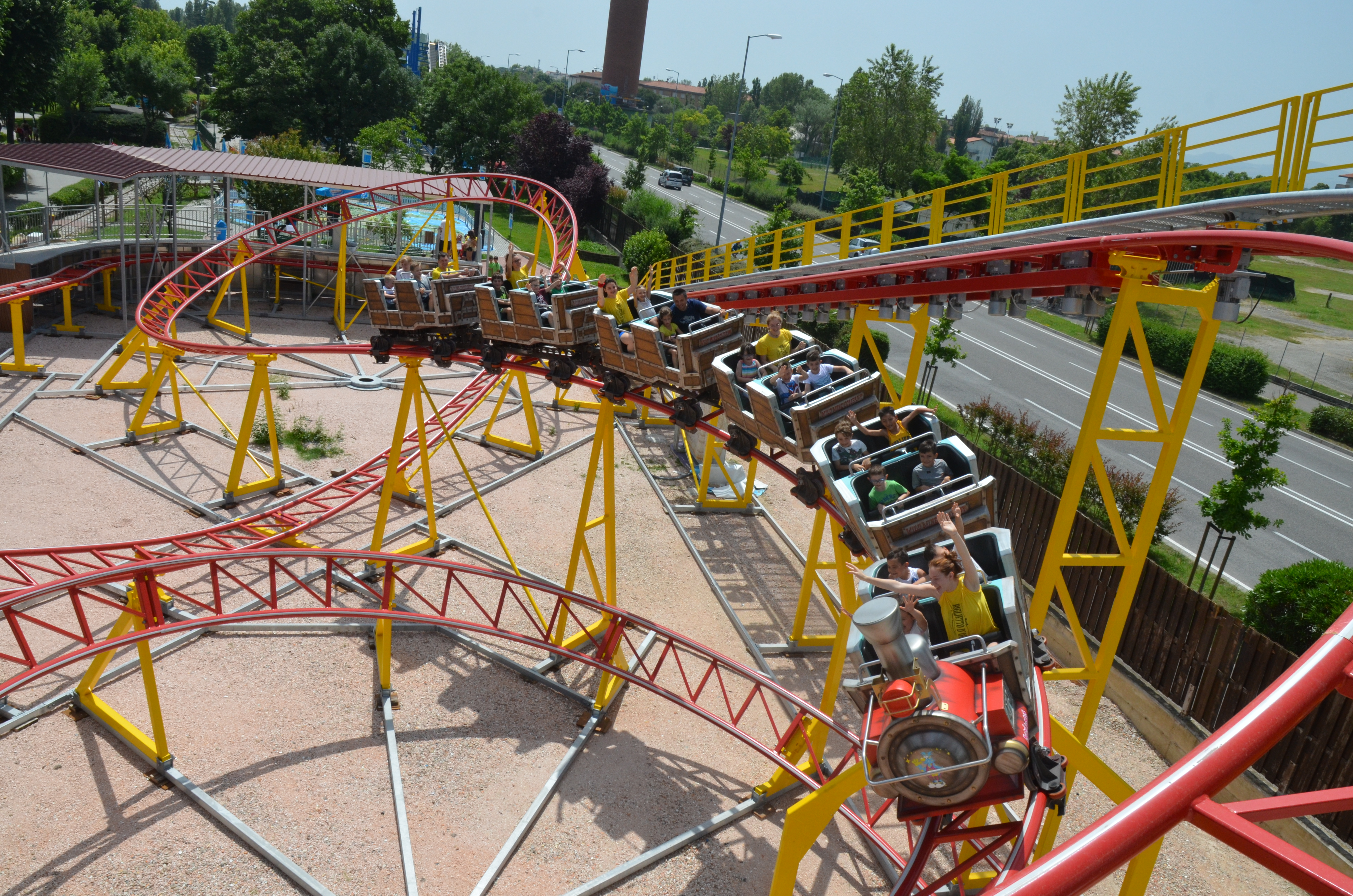 Coaster Fiabilandia Red Mountain 2
